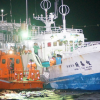Taiwan Coast Guard rushes 3,000 km to rescue captain suffering stroke at sea