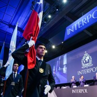 國際刑警組織第88屆大會(照片翻攝自INTERPOL推特: https://bit.ly/2MVM88A)