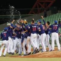 Taiwan beats Japan 5-4 in baseball in Asian Baseball Championship finals