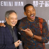 Ang Lee (left) and Will Smith. (CNA photo)