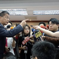 Taiwan's interior minister gets in shouting match with pro-China reporter over HK suspect
