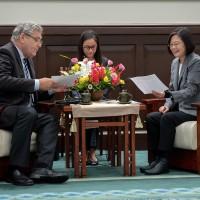 President Tsai pledges to deepen Taiwan-Netherlands ties