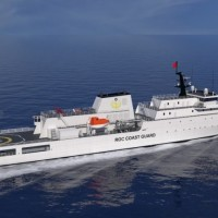 Taiwan begins constructing 4,000 ton Coast Guard patrol vessel