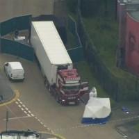 【最新】英國貨櫃車39偷渡客疑有中國與越南人 血手印顯示曾企圖求救