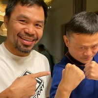 China billionaire Jack Ma 'challenges' US boxer Floyd Mayweather to boxing match