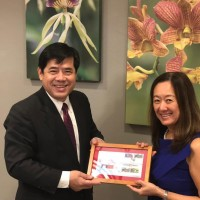 Taiwan ambassador meets with US deputy assistant secretary in Belize