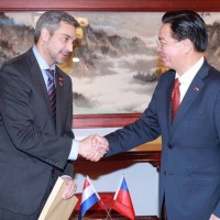 Taiwan's foreign minister visits Paraguay with agricultural delegation