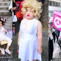 Cute DIY costumes spotted at Tianmu Halloween Festival in Taipei