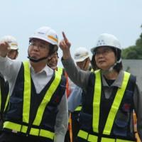 台灣蘇花改工程如期執行 蔡英文:1月5日將全線通車