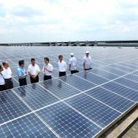 Plans to build Taiwan's largest solar power plant underway