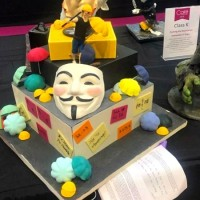 Pro-Hong Kong cake disqualified from UK competition