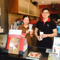 台灣新竹市試辦飲料杯「甲地借乙地還」活動   看電影也可參加