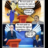 Photo of the Day: 'Minority rights' with NBA characteristics