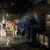 台塑高雄林園廠槽車爆炸遭罰45萬元 向居民致歉並提前歲修