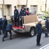 2020台灣總統候選人座車曝光 全車防彈可變行動會議室