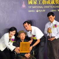 台灣木雕大師獲工藝成就獎 世界文化遺產日本「首里城」出自其手
