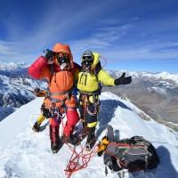 台灣第一次!素人陳鴻耀、蘇立成順利攻上7千公尺希姆隆峰