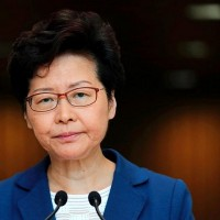 Hong Kong leader says protesters 'paralysing' the city are selfish