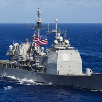 US sends first warship through Taiwan Strait since September