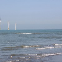 Taiwan's first commercial-scale offshore wind farm inaugurated