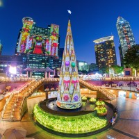 Dazzling Christmasland festival illuminates New Taipei tonight