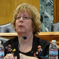 USCC Chairman Carolyn Bartholomew. (CNA photo)