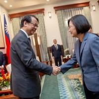 日本駐台灣代表晉見蔡英文:將全力推動台日關係