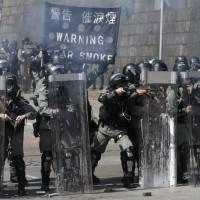 【更新】港警裝甲車被控裝「聲波炮」 香港城市大學宿舍水傳遭污染