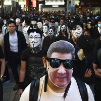 Hong Kong court strikes down face mask ban