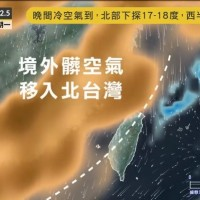 Video shows pollution from China bearing down on Taiwan