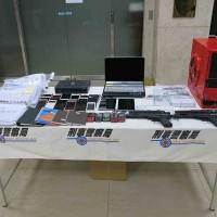 Evidence of prostitution ring collected by police. (Criminal Investigation Bureau photo)