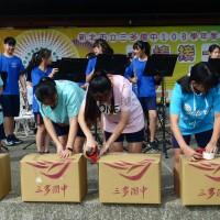 為緬甸華語學校募書 台灣學生反應熱烈