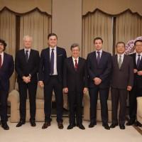 會西班牙議會訪團 台灣副總統盼洽簽司法互助協定
