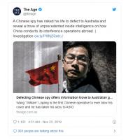 中國間諜投誠澳洲揭密 點名中共下重金台媒助宣傳