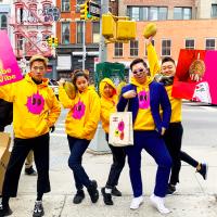 台灣虛擬網紅「法咪咪」榴槤大王 紐約時代廣場電視牆熱映