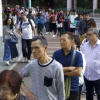 【更新】香港選舉投票率創新高 7小時內近175萬人投票
