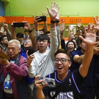 Pro-democracy candidates advance in key Hong Kong elections