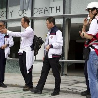 Searchers find only one woman on besieged Hong Kong campus