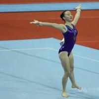 台灣體操界第一人 國際體操賽地板新動作以「丁華恬」命名