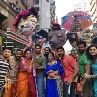 台灣新北印度文化節踩街大遊行   寶萊塢魅力無法擋