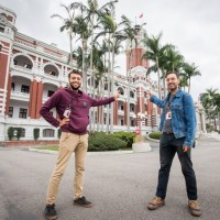 7th pair of foreigners stay at Presidential Office Building sing Taiwan's praises
