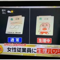 日本百貨公司女員工被要求配戴「生理期標誌」 引起抗議