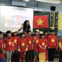 台灣桃園專業新住民語教學   越南電視台跨海拍攝