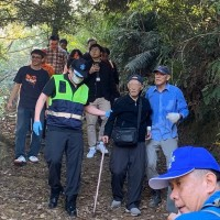 98-year-old retired general spent 2 nights lost in Taiwan mountains
