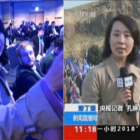 Chinese news anchor convicted of assaulting Hong Kong student