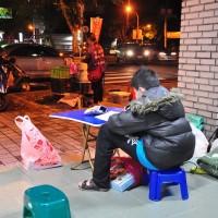 台灣宜蘭男童「借光夜讀」、陪媽媽賣烤地瓜 各界愛心不斷湧入