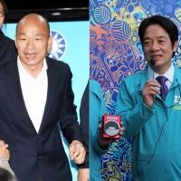 【台灣2020大選】韓國瑜喊「讓高雄出總統」 賴清德:不是這一次