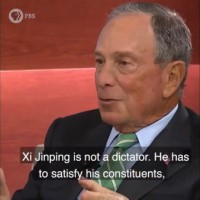 Video shows Bloomberg saying China's 'Xi Jinping is not a dictator'