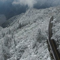 2nd cold air mass to blast Taiwan Friday, snow possible in mountains