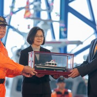 4 Coast Guard boats launched in Kaohsiung
